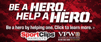 Sport Clips Haircuts of Mooresville​ Help a Hero Campaign